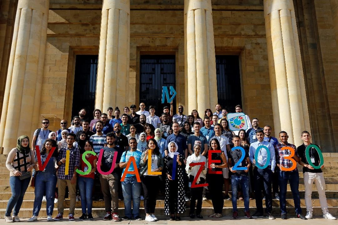 Fifty participants from fourteen Arab countries compete to